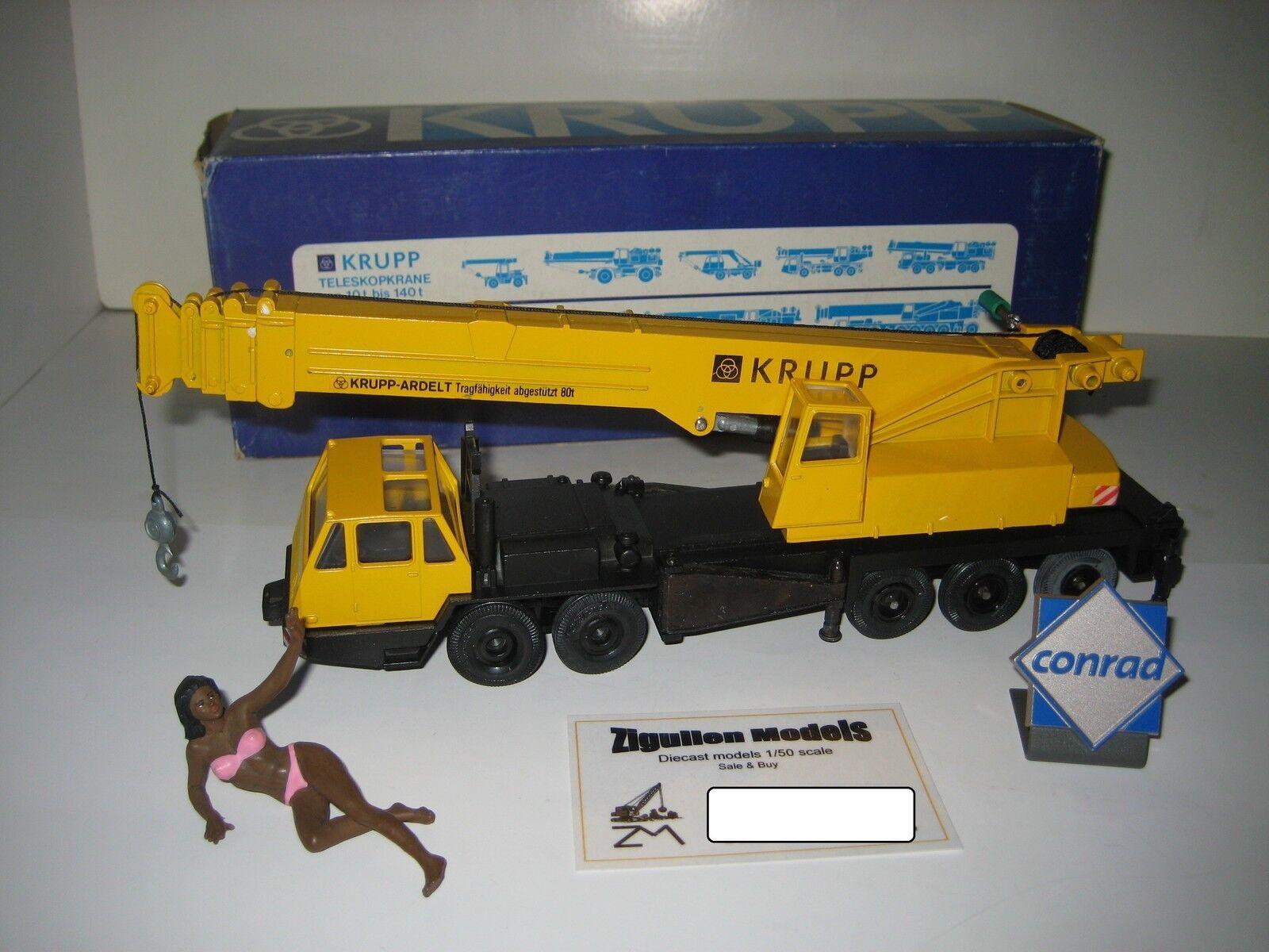 Krupp Ardelt gmt 80 autokran amarillo  3070.1 Conrad 1 50 OVP
