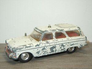 Ford-Zephyr-Motorway-Patrol-Car-POLITIE-Corgi-Toys-419-England-32362