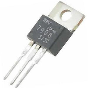 5-Stueck-LM7908-neg-Spannungsregler-8V-1A-TO-220-NEC-Neuware-ohne-RoHS