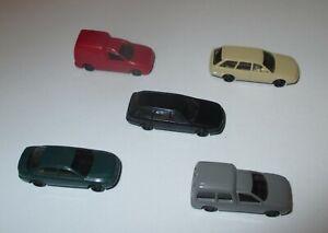 Rietze-Audi-A4-A6-Avant-Et-VW-Caddy-1-160-Voie-N-5-Pieces-Neuf