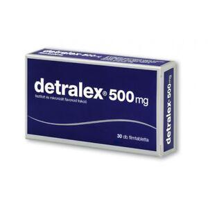 DETRALEX 500mg 30tabs Varicose Vascular disorders Swollen Tired legs Hemorrhoids