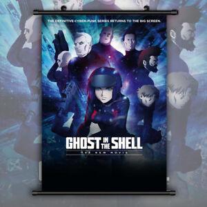 Ghost-in-the-Shell-Motoko-Kusanagi-Anime-HD-Print-Wall-Poster-Scroll-Home-Decor