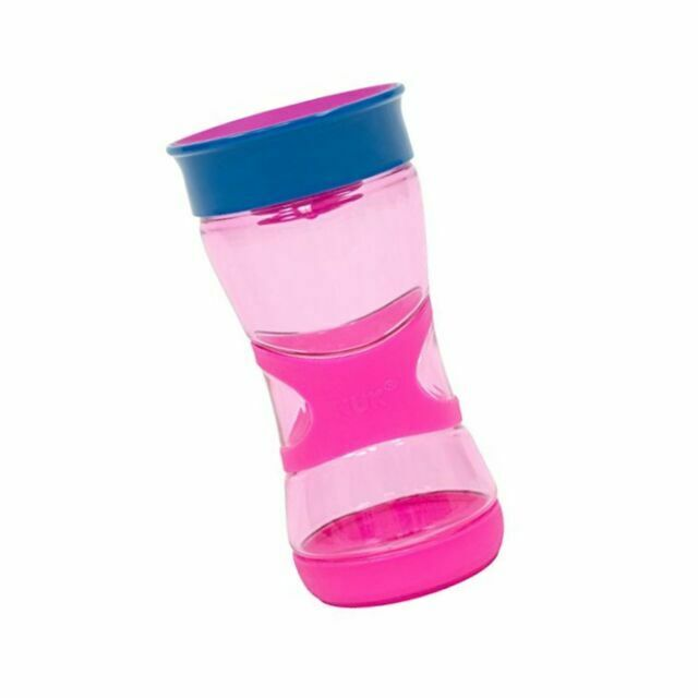6+ Months BPA-Free NUK Mini Cups 3in1 Sippy Cup Set 160 ml 360/° Anti-Spill Rim Easy Grip Handles 2 Count Mini Magic Cup /& Trainer Cup