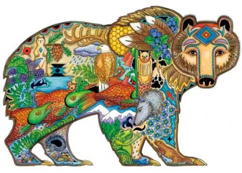 Grizzly Bear by Sue Coccia Bear Print 14x11