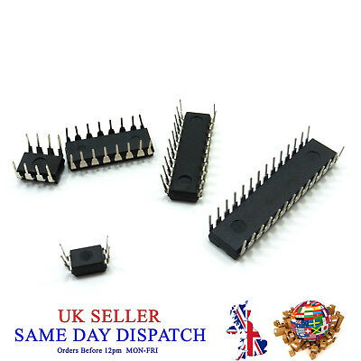 4 8 14 16 20 Pin Integrated Circuits Chips DIP IC 2-Wire Serial Different Types