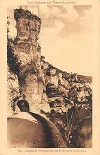 BF6308 cirque de paugnadoire vue dela r gorges du tarn france      France