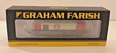 Graham Farish N Gauge - 371-036 - Class 20 227 London Underground Diesel - New