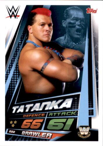 Wwe Slam Attax 12 Universe Carte 222-Tatanka-WW Legends