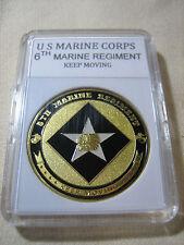 US MARINE CORPS - 6th MARINE REGIMENT Challenge Coin