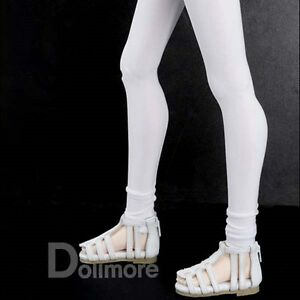 leggings White Dollmore 1//3 BJD SD