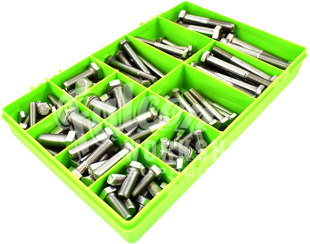 114 ASSORTED PIECE UNF A2 STAINLESS STEEL IMPERIAL 1/2