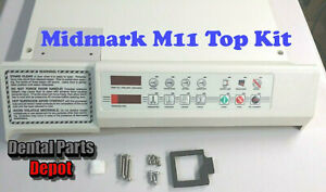 Midmark-M11-Sterilizer-Replacement-Top-Cover-Kit-Red-Display-RPI-MIK197