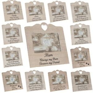 Photo-Frame-Wood-Effect-Rustic-Picture-Photo-Frame-Light-Brown-White-Wash