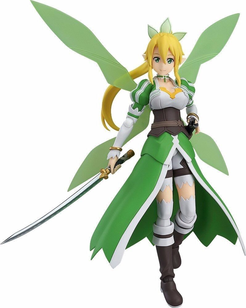 Figma 314 Sword Art Online II LEAFA Action Figure Max Factory NEW from Japan F S
