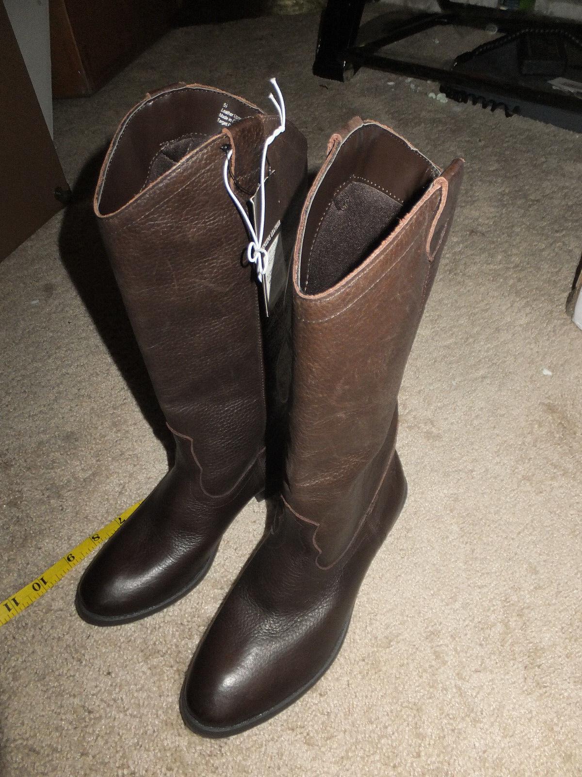 Genuine 1976 damen Leather Stiefel