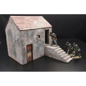 Decor-diorama-dependance-de-ferme-pour-figurines-54-60mm-pour-King-amp-Country