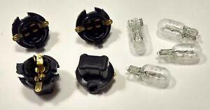 OEM Mopar Instrument Panel Dash Light Socket & Bulb 8-Pack Dodge Plymouth '62-79
