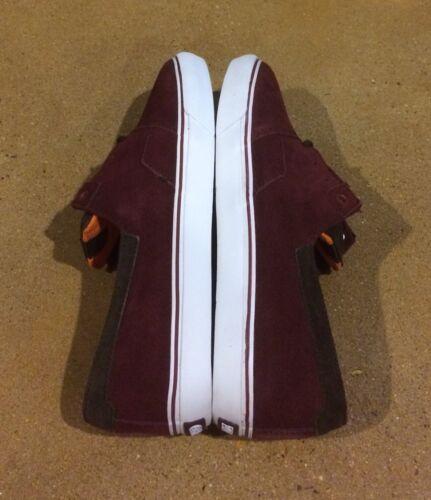 Dc Bmx Daim 2 11 Chaussures Dvs 5 Skate De Baskets Taille Torey Pudwill 883610566667 Bordeaux 1Yz55q8w