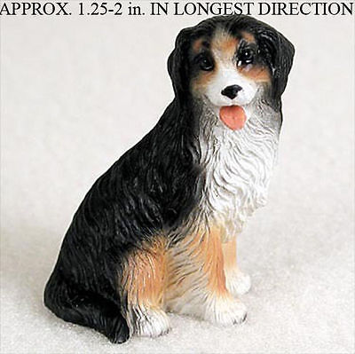 Bernese Mountain Dog Mini Resin Hand Painted Dog Figuri