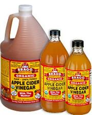 AUTH BRAGG RAW UNFILTERED ORGANIC 'MOTHER' APPLE CIDER VINEGAR 946 ML/32 FL OZ
