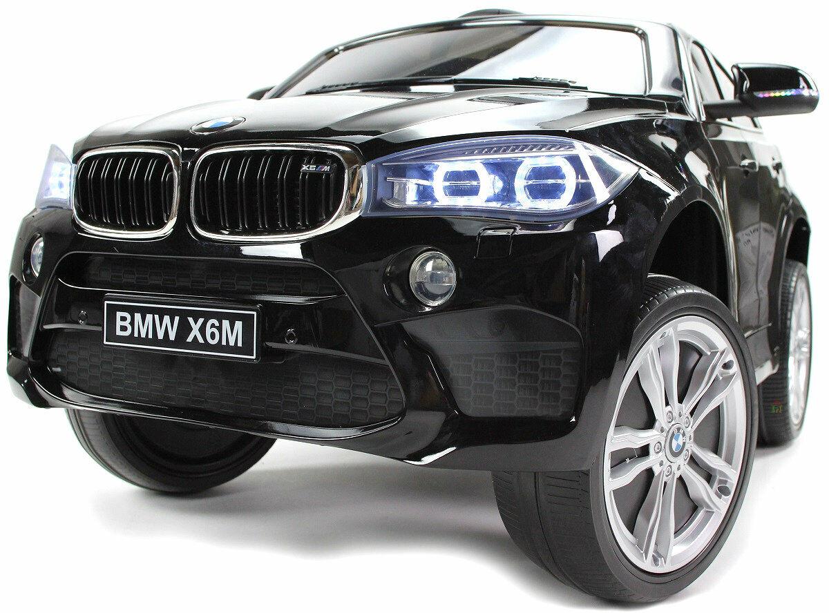 Bmw X6 Lift Eva Räder Kinderauto Kinderfahrzeug Kinder Elektroauto Schwarz