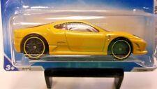 2010 Hot Wheels Ferrari 430 Scuderia in Yellow 127/240
