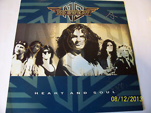 "No Sweat - Heart And Soul (1990) 12"" vinyl . AUTOGRAPHED"