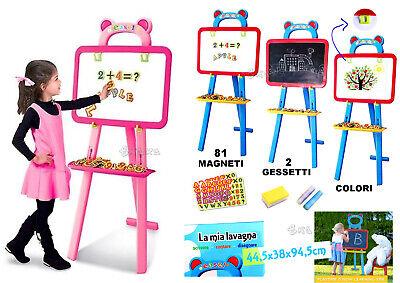 Lavagna per Bambini Lavagna magnetica cavalletto Lavagna gessi pennarelli carta