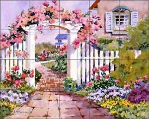 Rose-Arbor-Tile-Backsplash-Ann-McEachron-Landscape-Art-Ceramic-Mural-RW-AM010