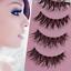 Women-Makeup-Handmade-Natural-Thick-False-Eyelashes-Long-Eye-Lashes-Extension thumbnail 19