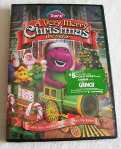 Barney A Very Merry Christmas The Movie Dvd.Details About Barney A Very Merry Christmas The Movie Dvd 2018 58 Minutes Of Fun