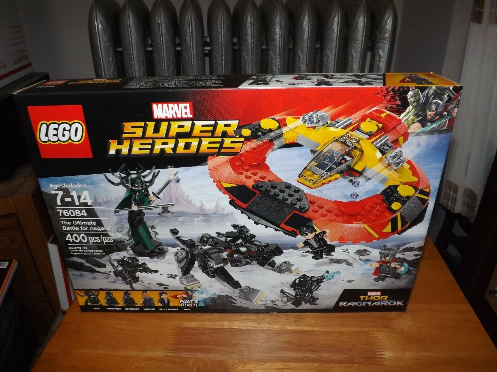 LEGO, THOR RAGNAROK, THE ULTIMATE BATTLE FOR ASGARD, KIT  76084, NEW IN BOX 2017