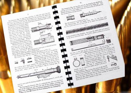 SPRINGFIELD ARMORY Model 1903 .30 Cal Rifle 75 Page Owners Manual 1911 revision