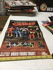 Identity Crisis SERIE 2 PROMO POSTER 2006 DC DIRECT da Michael Turner