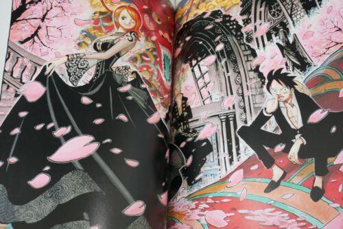 JAPAN One Piece Art book Eiichiro Oda Color Walk #5 Shark