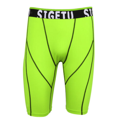Men/'s Sports Gym Compression Under Base Layer Shorts Pants Athletic Tights