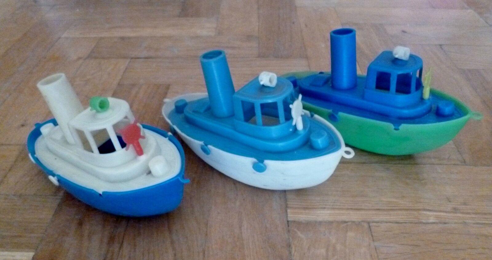 AMAZING årgång massa RARE GREK PENNY leksakS PLASTIC FISKBOLAG FRÅN 60-talet
