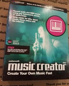 Details about Cakewalk Music Creator