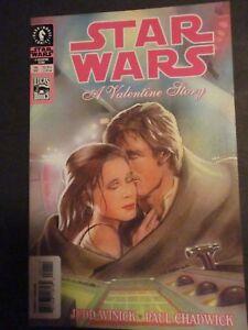 Original-Vintage-2003-STAR-WARS-A-Valentine-Story-Comic-Book-411A