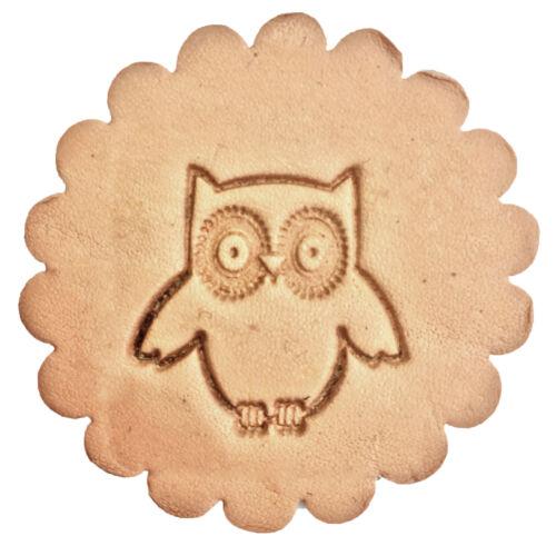 3-D Leathercraft Stamp Owl 8678-00