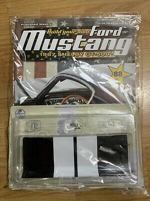 BUILD YOUR OWN DEAGOSTINI FORD MUSTANG SHELBY GT-500 ISSUE ...