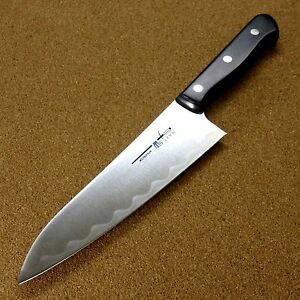 Japanese kitchen gyuto chef 39 s knife 175mm 6 9 inch meat for Japanese fish knife