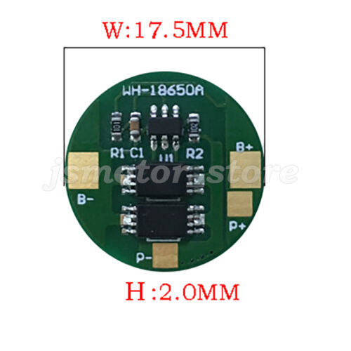 1S 3.2V 4A LiFePo4 LiFe 18650 Battery Cell BMS PCB Protection Circuit Board PCM