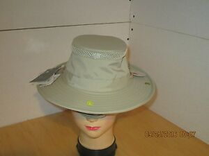 60e377f3166 Image is loading Tilley-Airflo-Hat-Khaki-Olive-LTM3-Size-7-