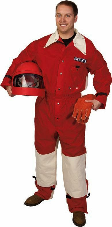 Clemco Seasonal Light Duty Sandblasting Suit  XL & 2XL,  ( Select your size )