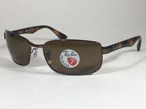 b79e4286292 Image is loading 205-New-Authentic-Ray-Ban-Polarized-Rectangle-Sunglasses-