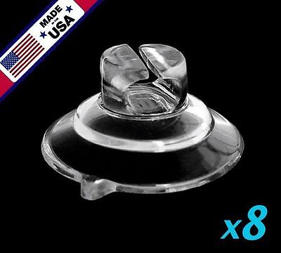 """2 1-1//4/"""" USA FINEST Ultra-Duty Large Slotted Suction Cups 1 LB HOLD"""