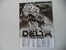 advertising Pubblicità 1982 DELTA MINI CRUISER