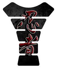 Ninja Kanji lettering Red Kawasaki Ninja Motorcycle Tank Pad tankpad Protector