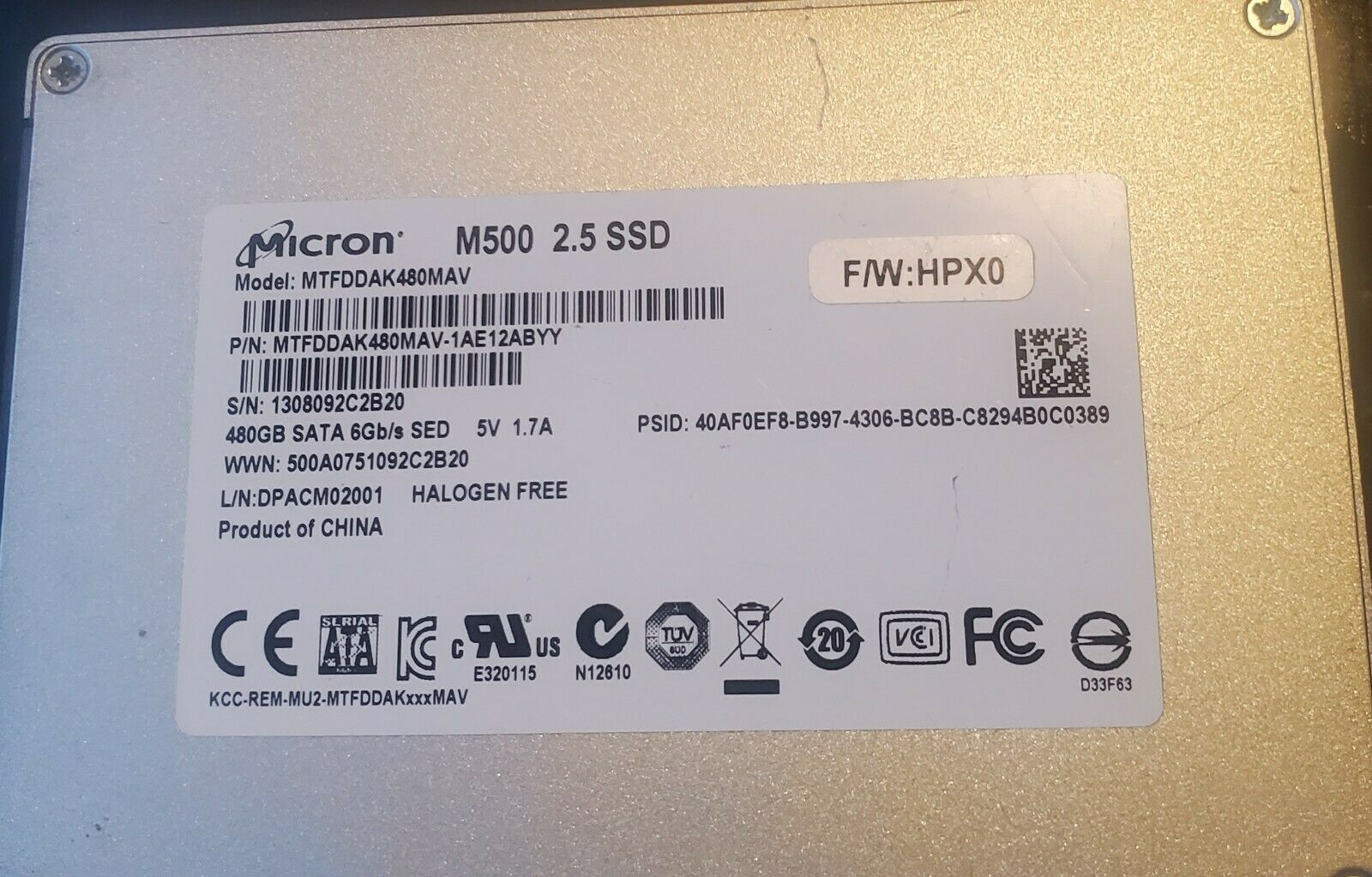 Samsung 860 EVO 500GB,Internal,2.5 inch (MZ76E500BAM) Solid State Drive. Buy it now for 49.00
